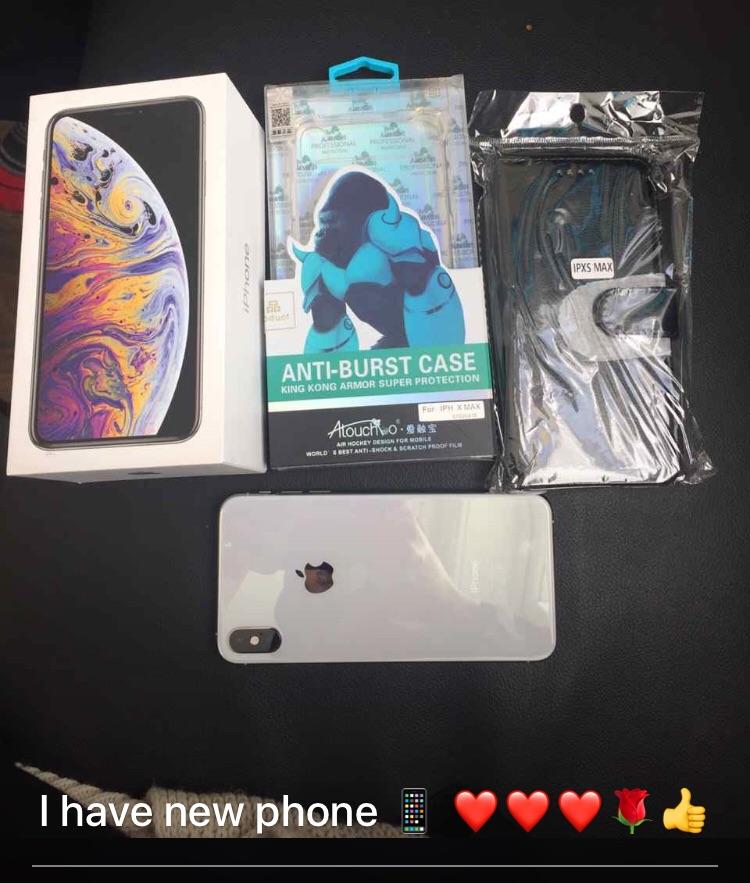 iPhone xs max 256 bg