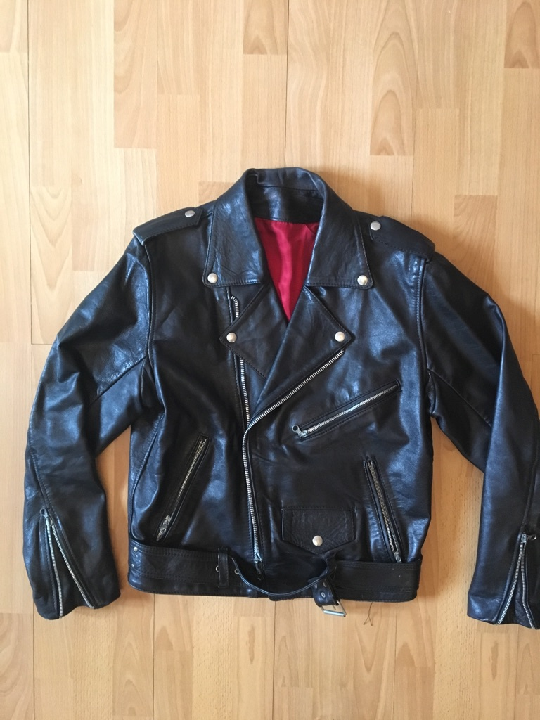 PRICE NEGOTIABLE Vintage black Leather jacket
