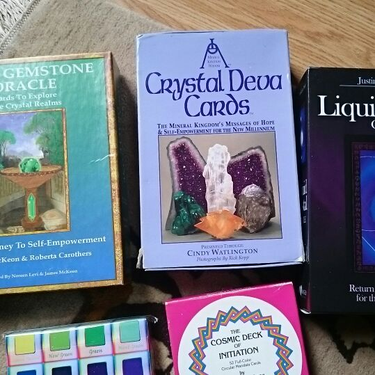 Job lot- Boxed sets of Oracle Cards