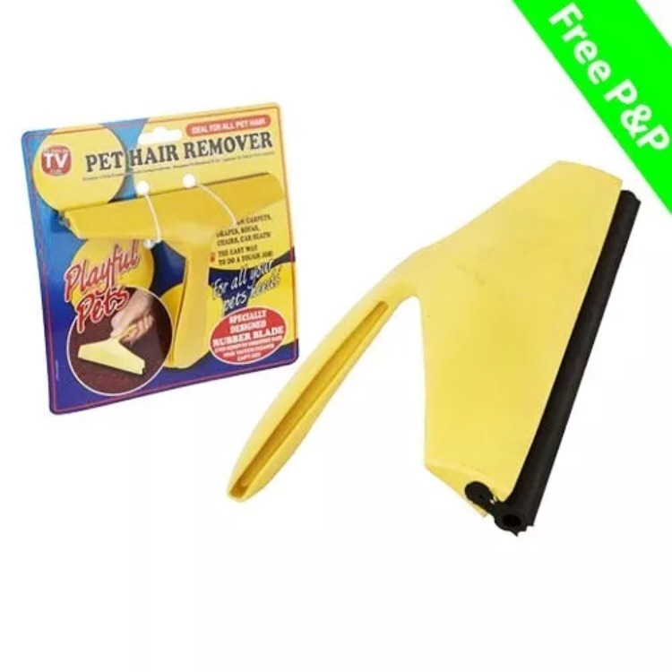 Pet hair remover for fabrics