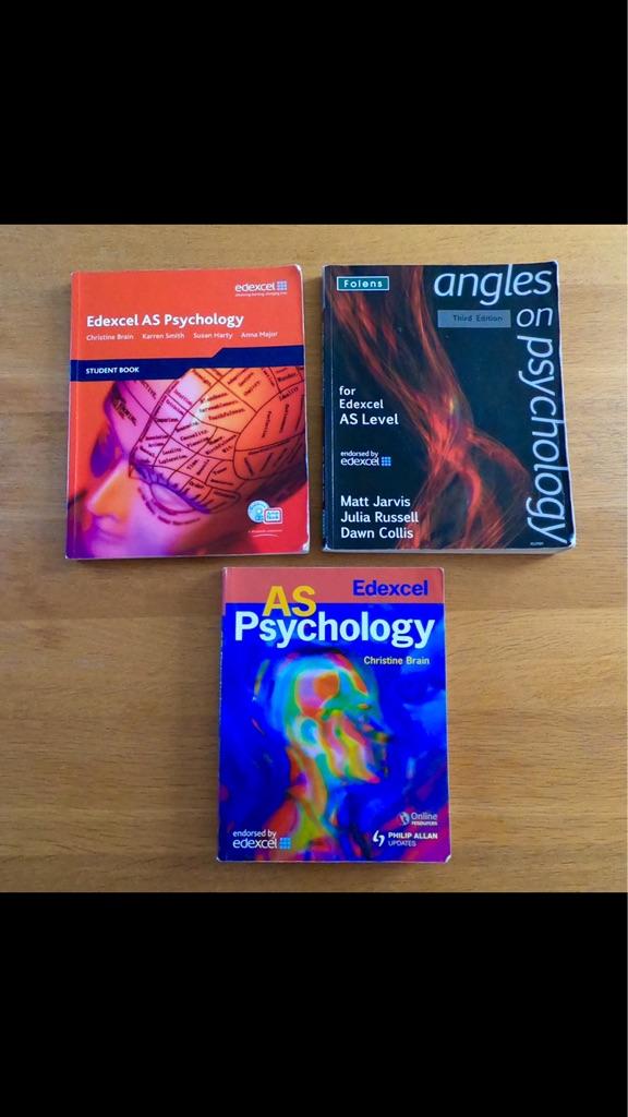 Edexcel A level AS Psychology Revision Books/guides