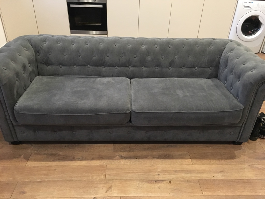 Chesterfield sofabed good condition