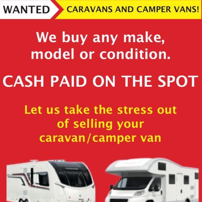 Caravan wanted motorhomes wanted