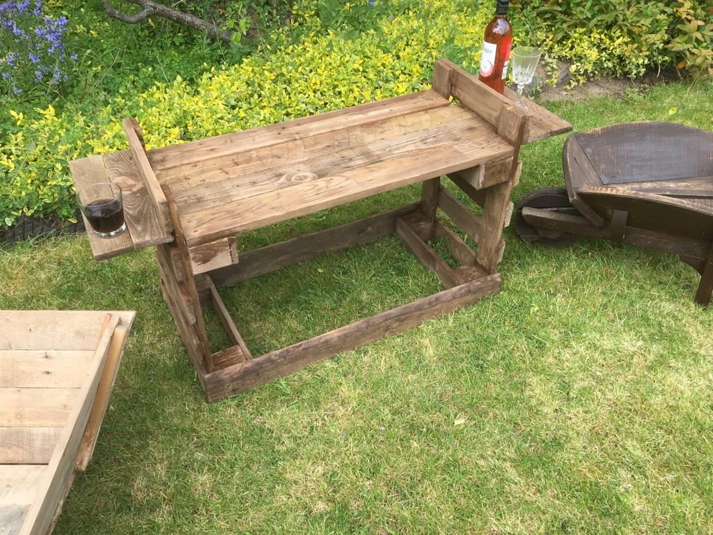Garden bench / table