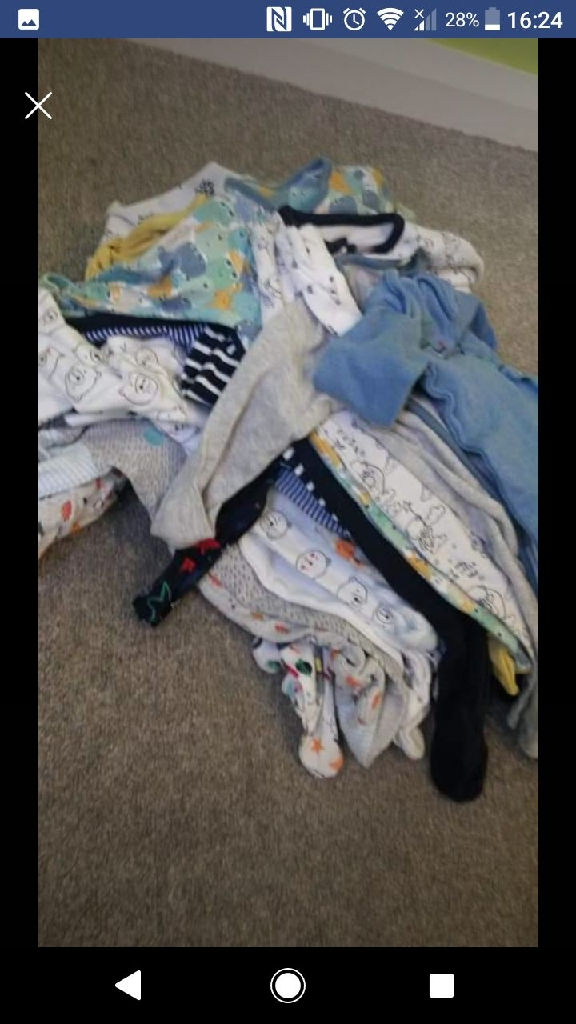 Baby boy sleep suits