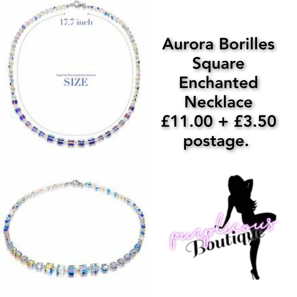 Aurora Borilles Square Enchanted Necklace