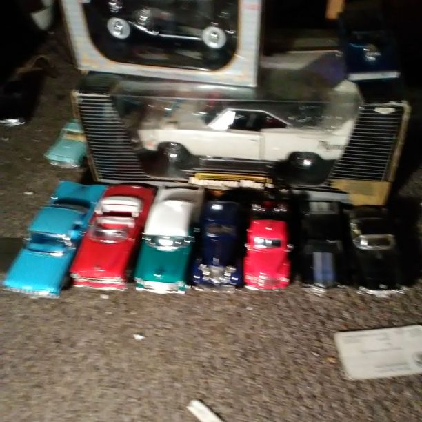 My dad toys cars after he pass away