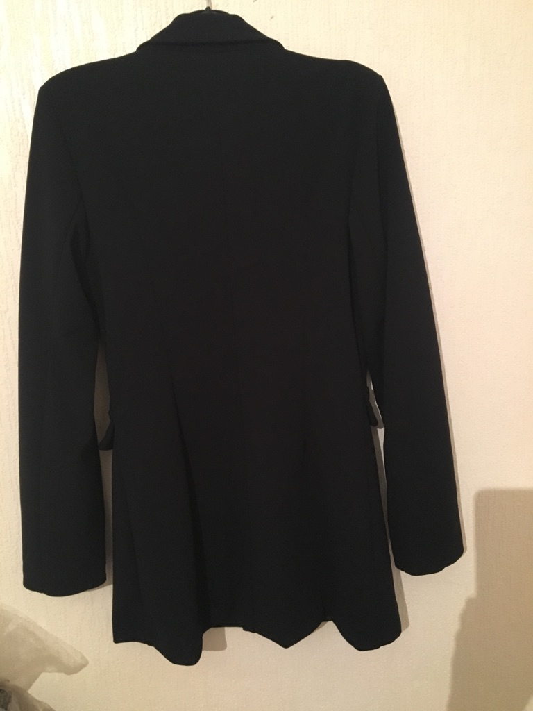 Ladies Black Blazer Dress