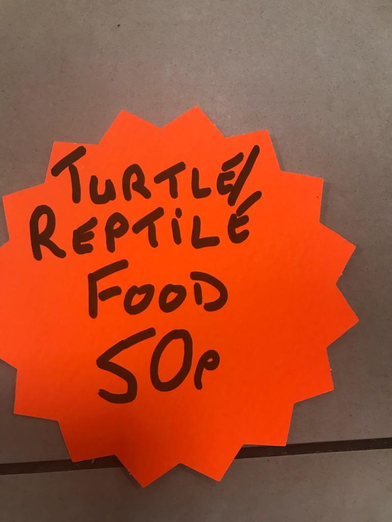 Turtle/Reptile Food