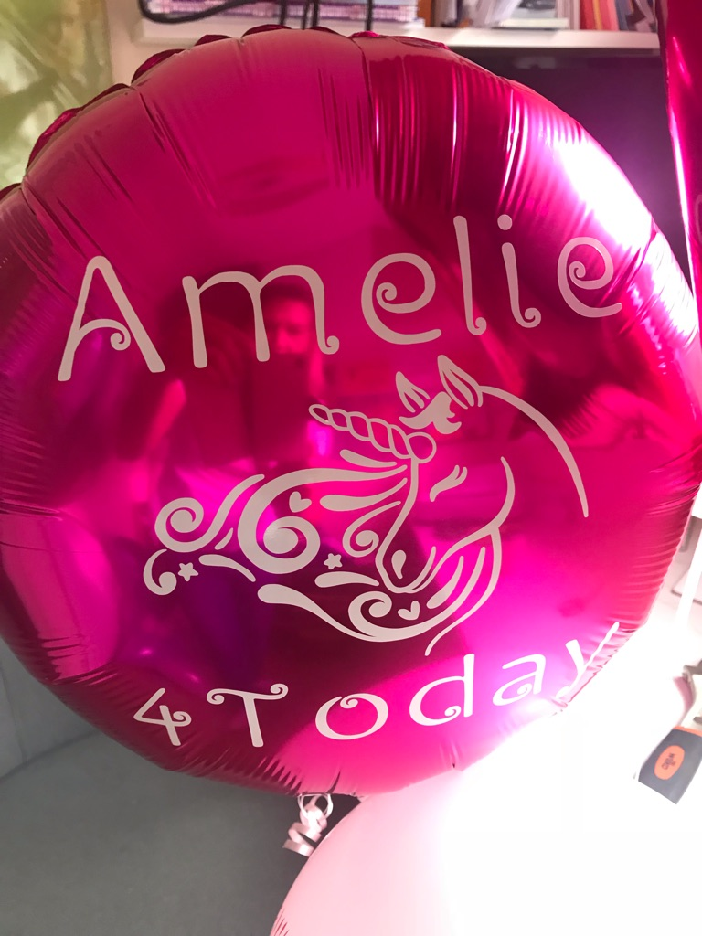 """Personalised 18"""" Foil Balloons"""
