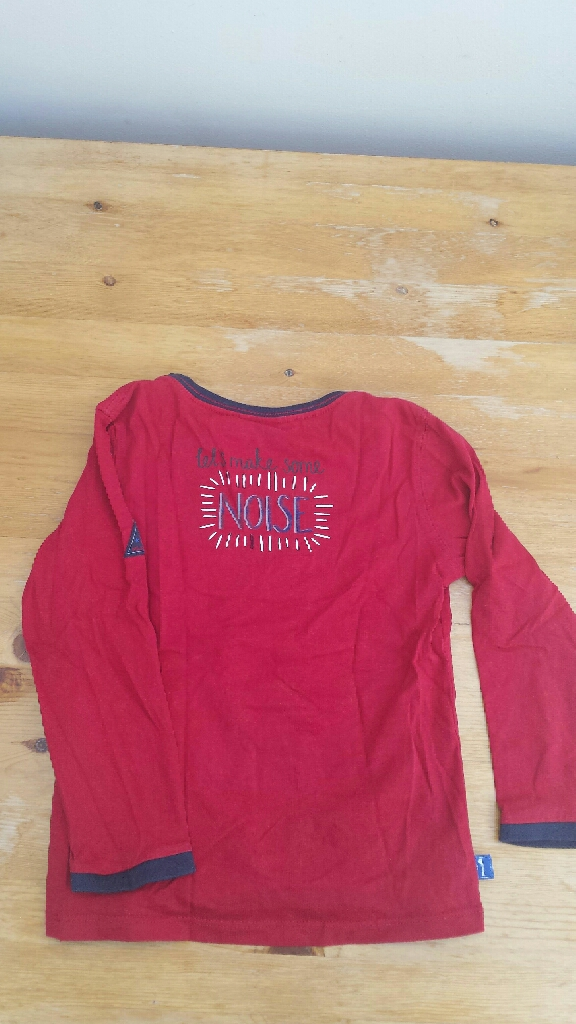 Sergent Major, 2 long sleeves t-shirts 5 Years-110cm
