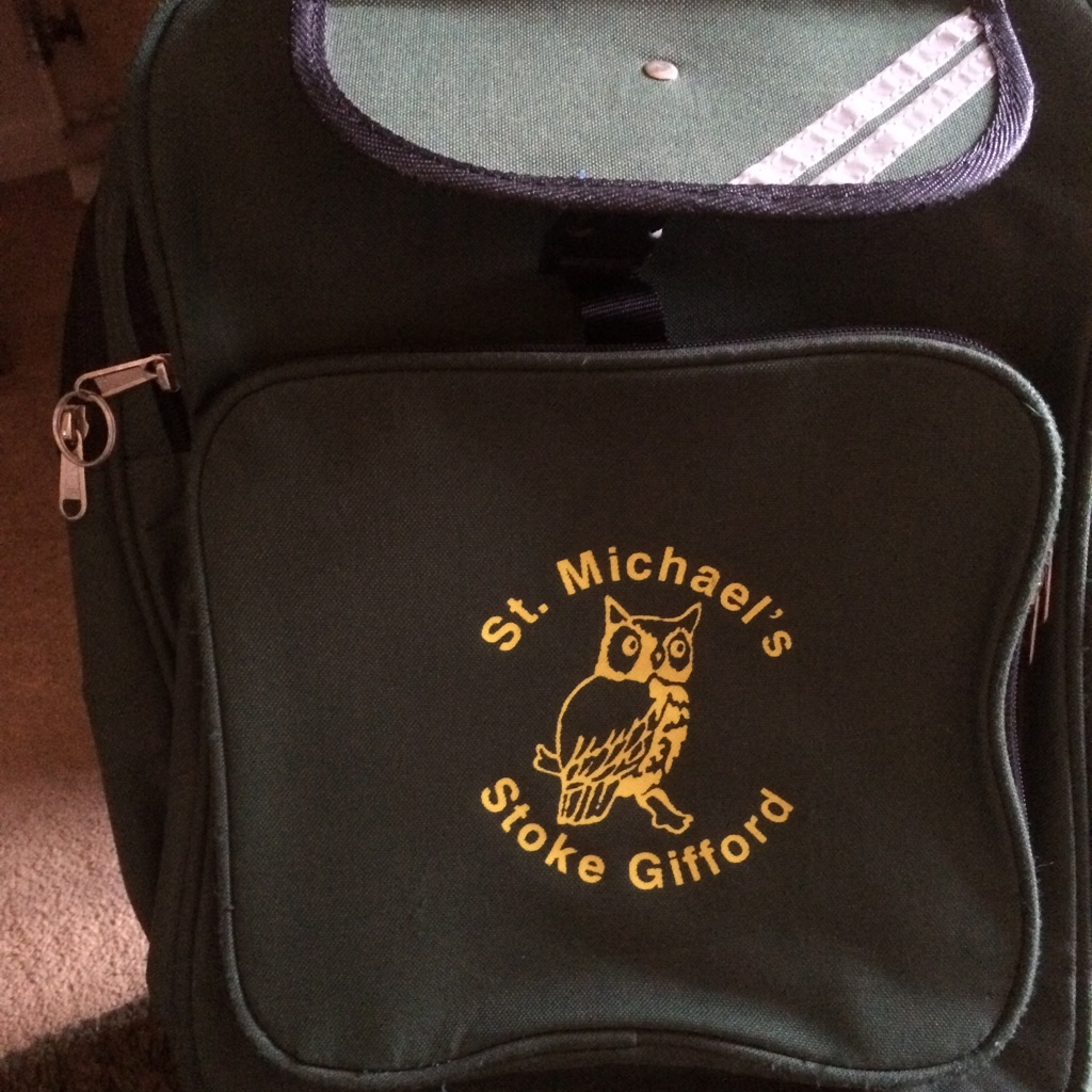 St Michaels school Rucksack