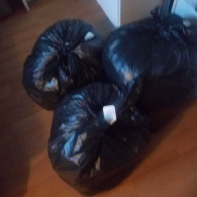 X3 bin bags mixed clothes