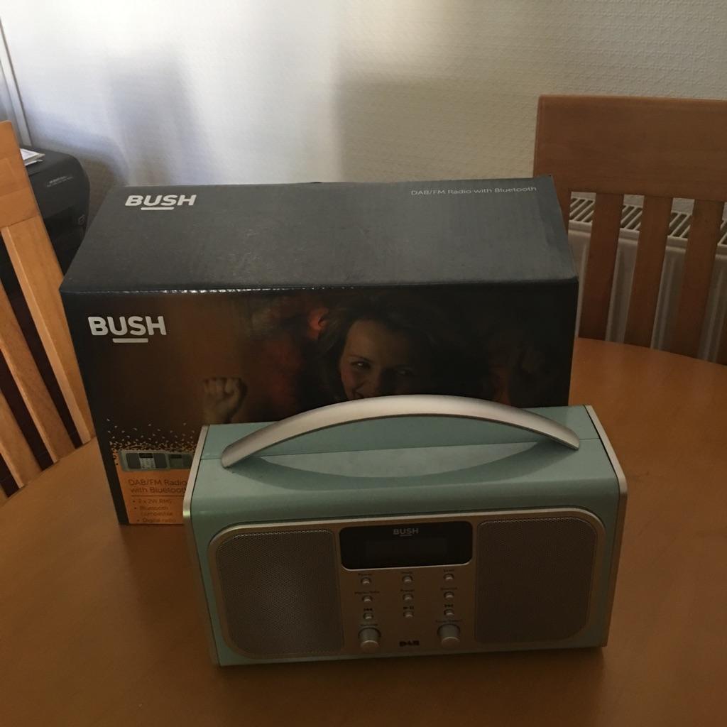 Bush dab Bluetooth radio