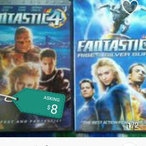 Fantastic Four set DVD