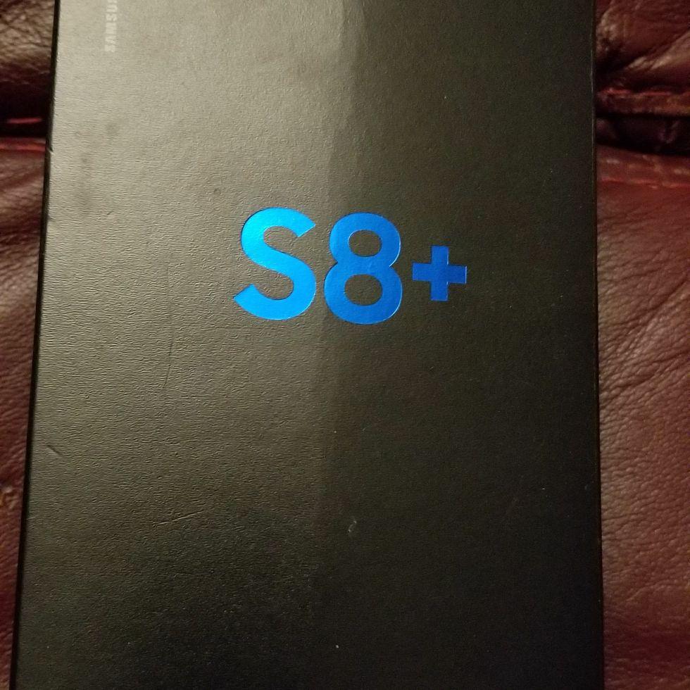 New in box s8+ 64gb