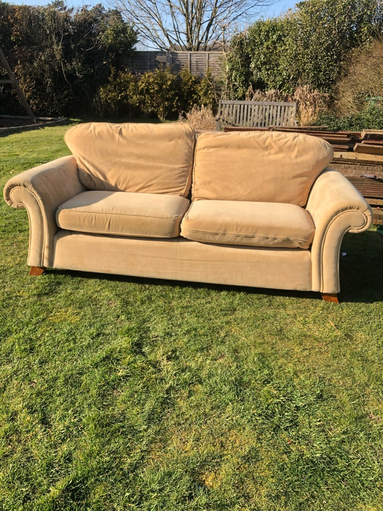 2 seater beige Sofa from Next