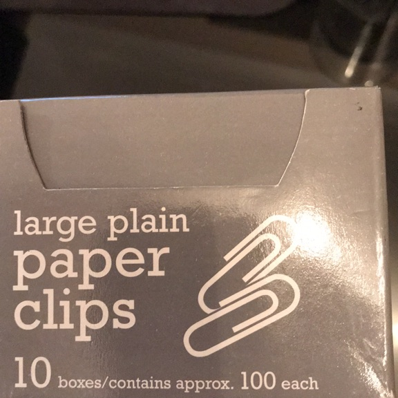 Paper clips large 32mm