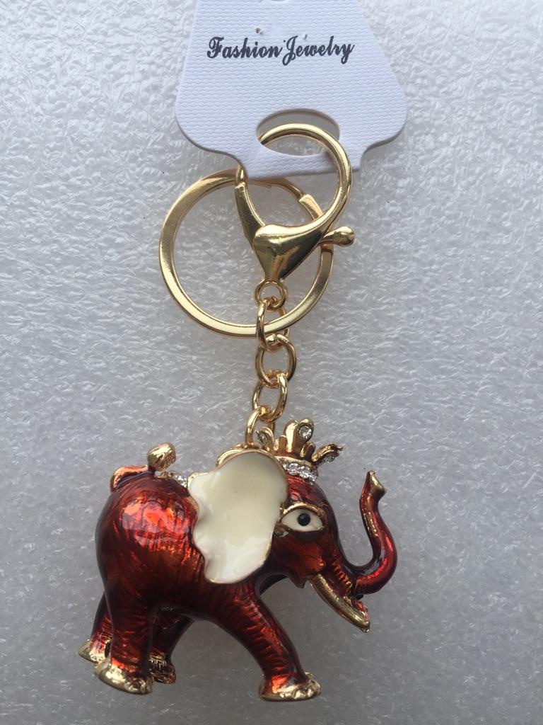 Keys ring holder with elephant ***** 6