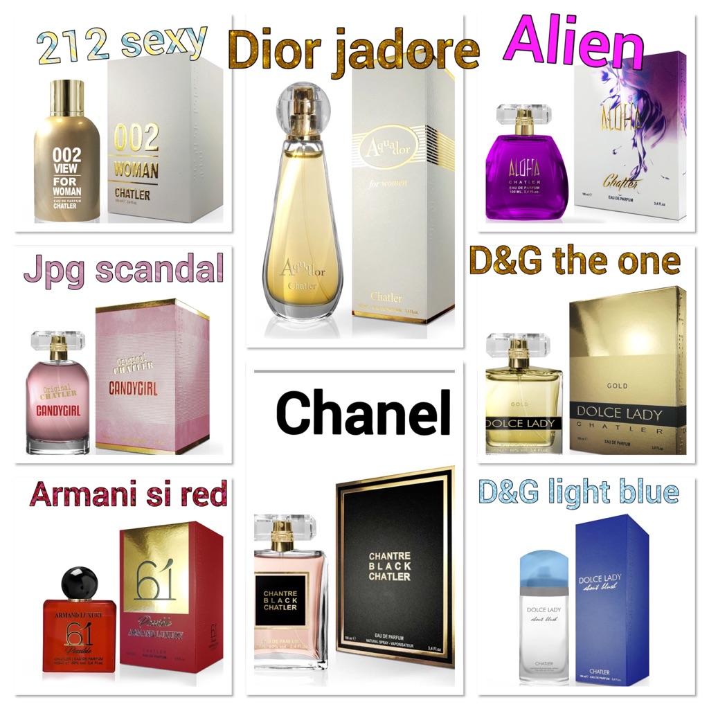 Luxury perfumes eu de parfum