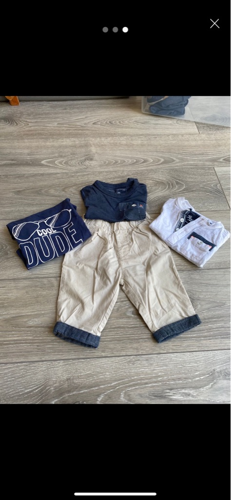 3-6months boys clothes
