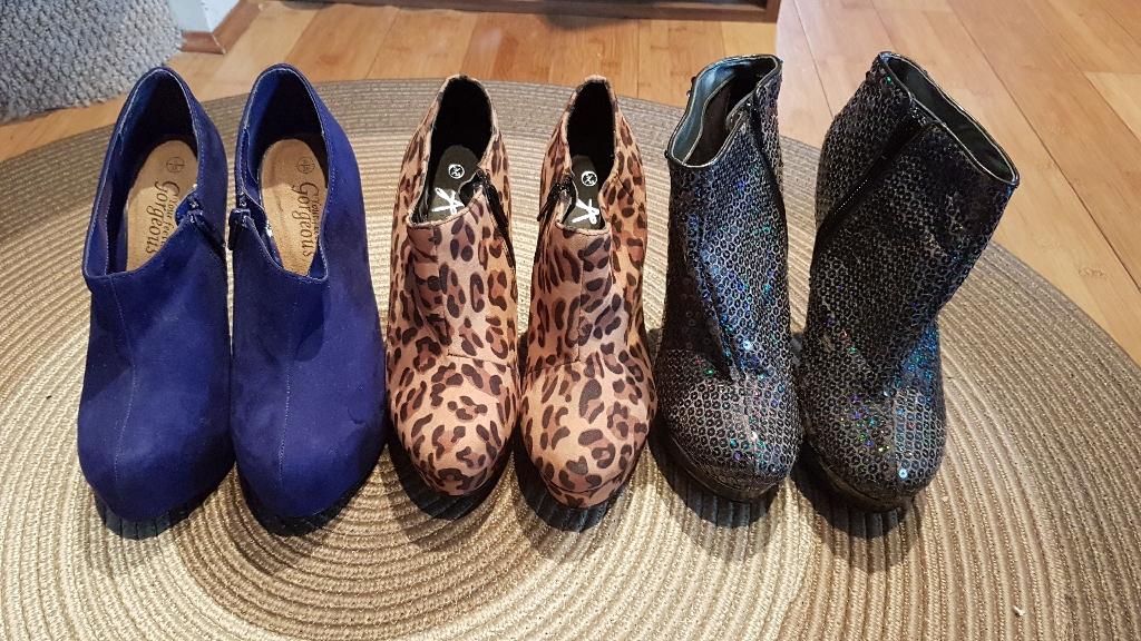 Bundle of heels
