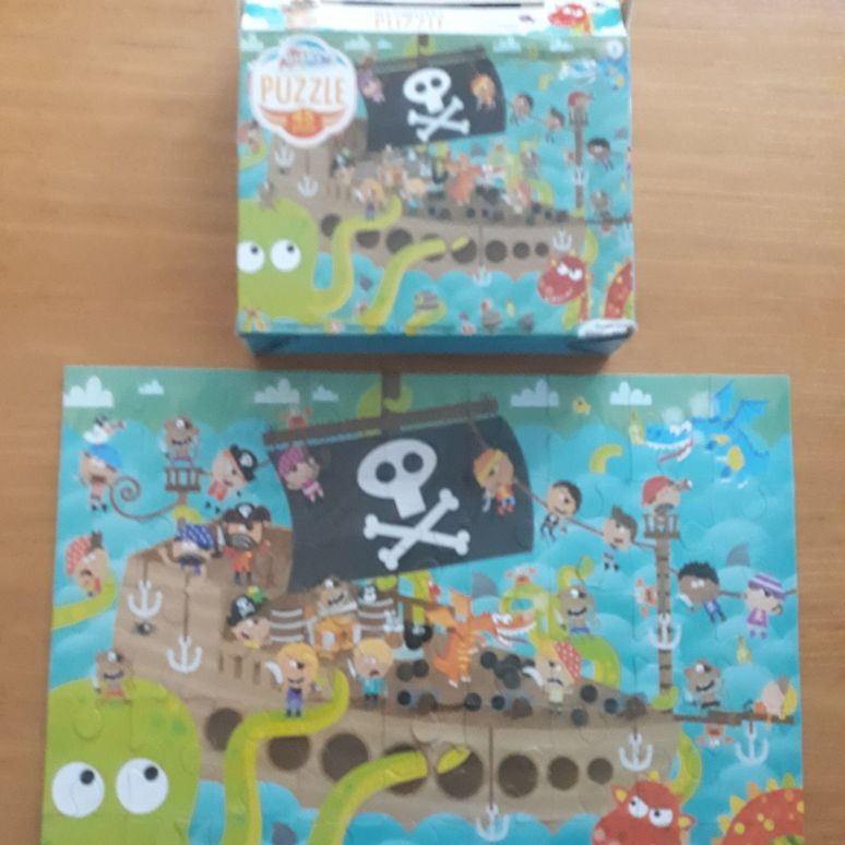 Childrens pirate ship jigsaw 🧩puzzle