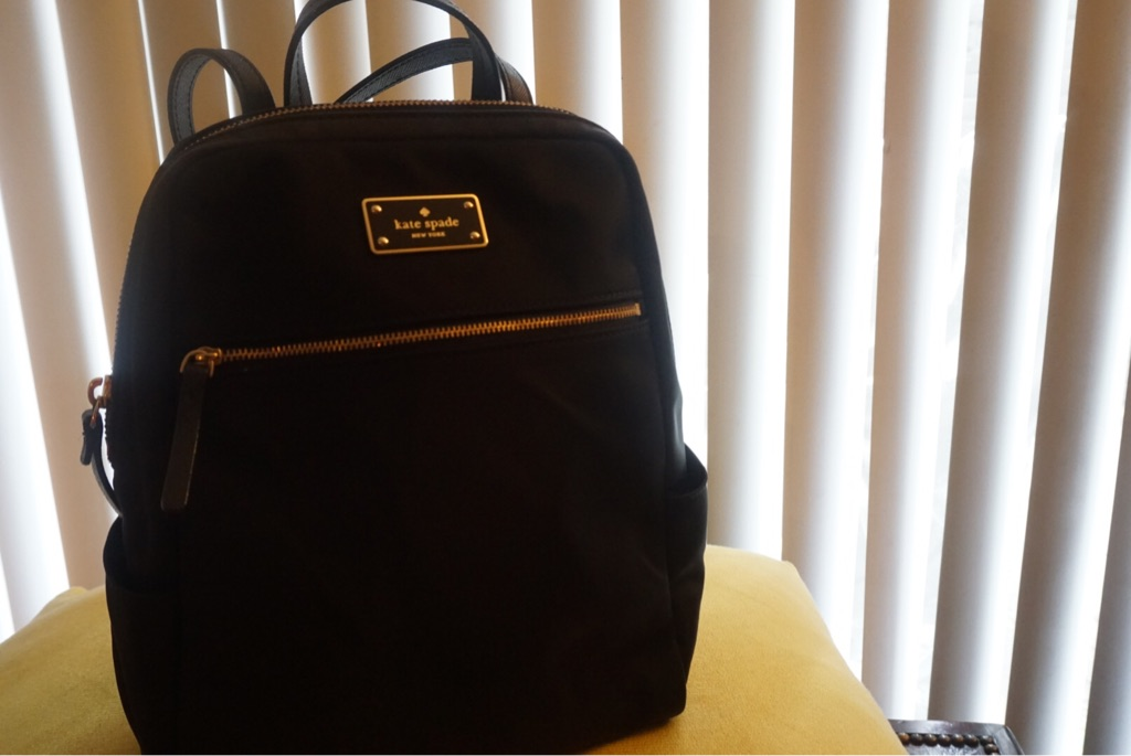 Authentic Kate Spade New York Black Backpack
