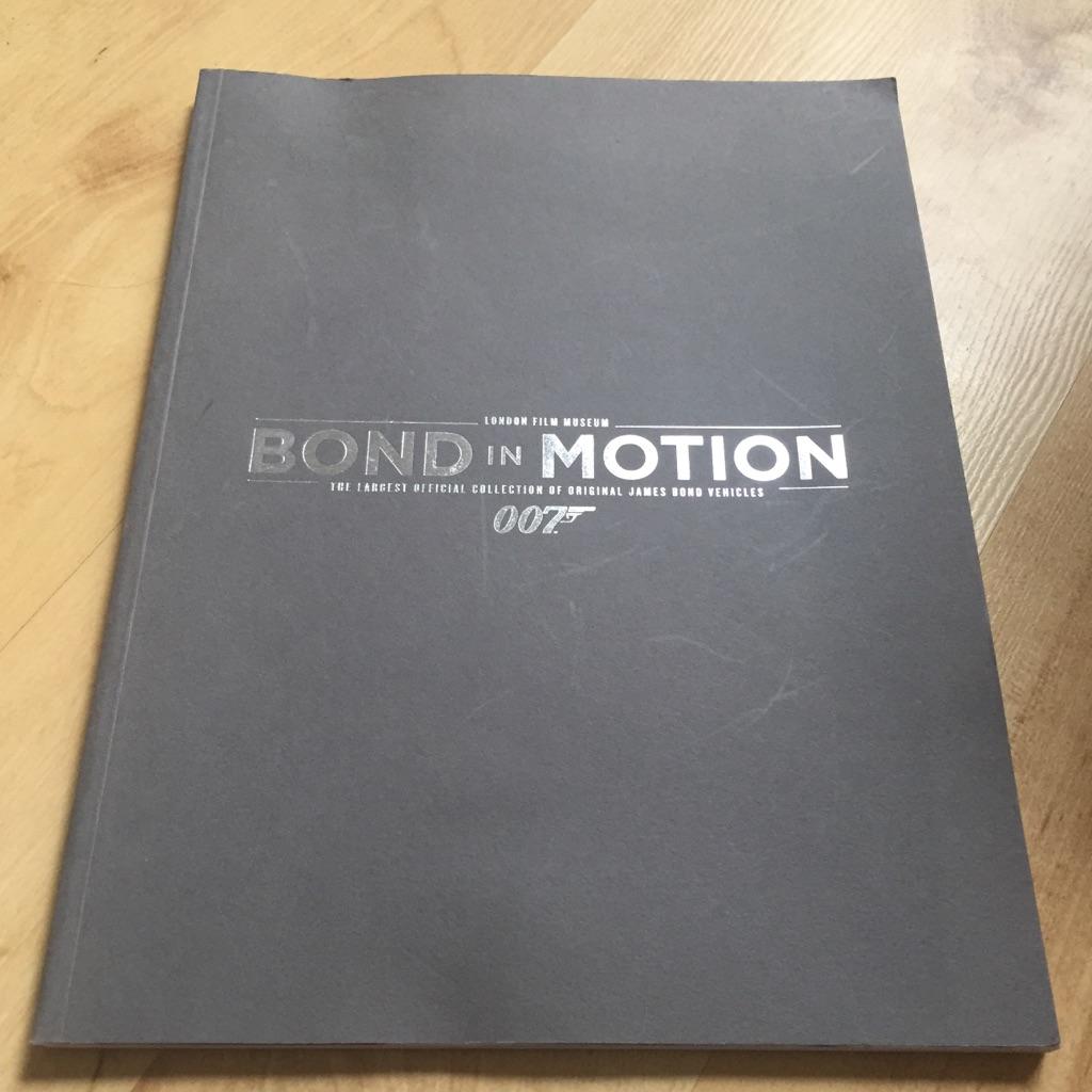 London Film Museum Bond in Motion 007  Book