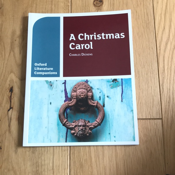 Christmas Carol Text Guide.A Christmas Carol Text Guide
