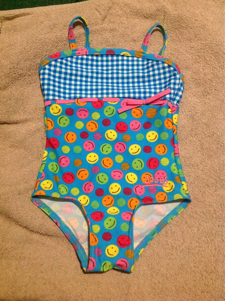 Zoggs girls swimming costume. 1-2 years