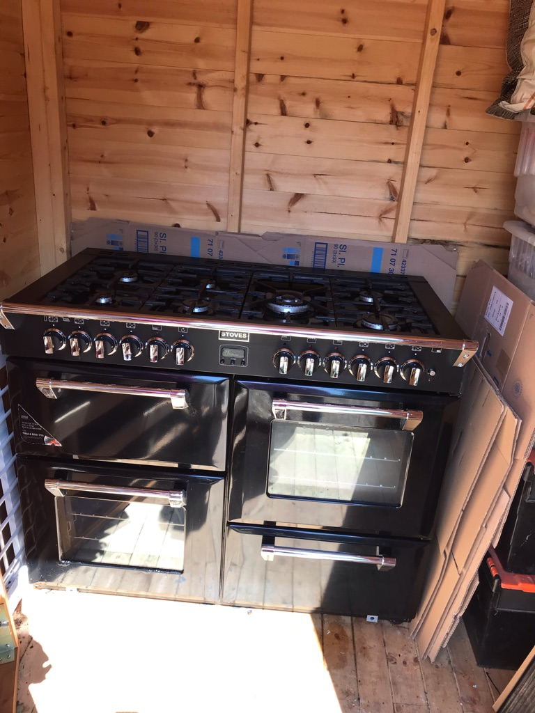 Stoves dual fuel range cooker