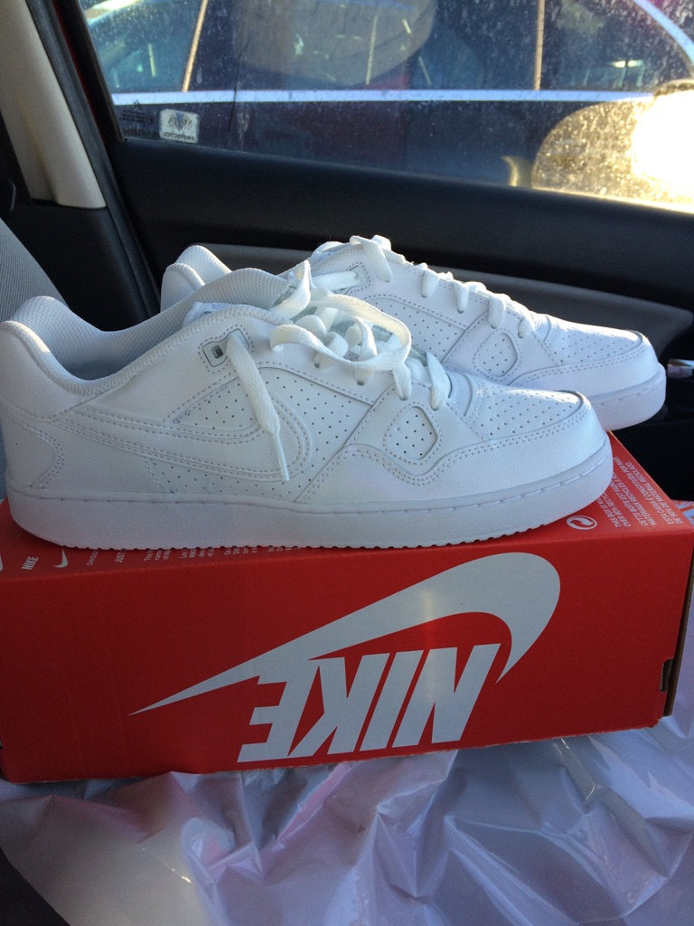 Nike Air Son of Force white leather size 8 Trainers