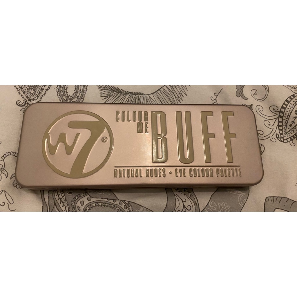 W7 Colour Me Buff palette