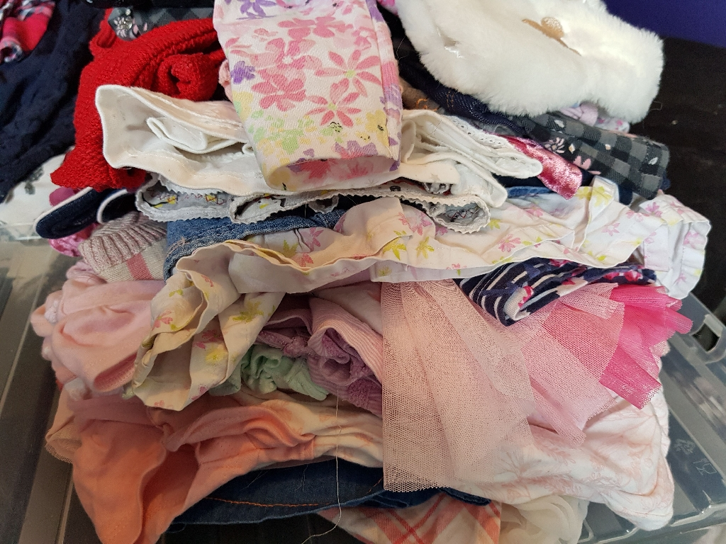 Large bundle of newborn and 0-3 month clothes
