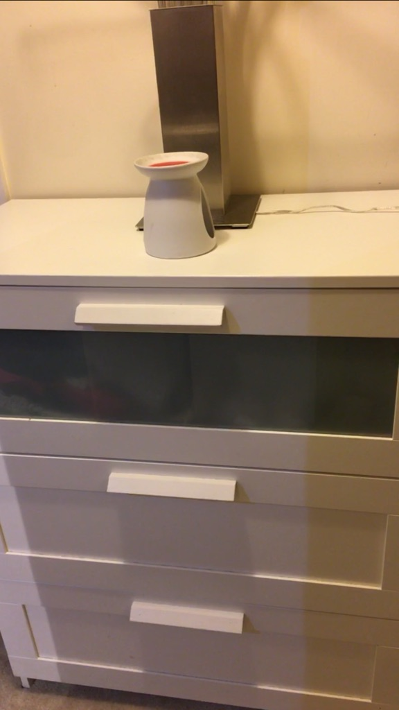 2 x Ikea bedside tables, 2 x Ikea drawers and a tv stand