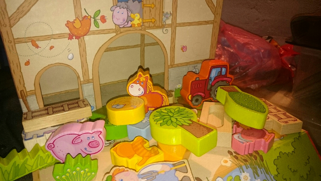 Haba wooden farm