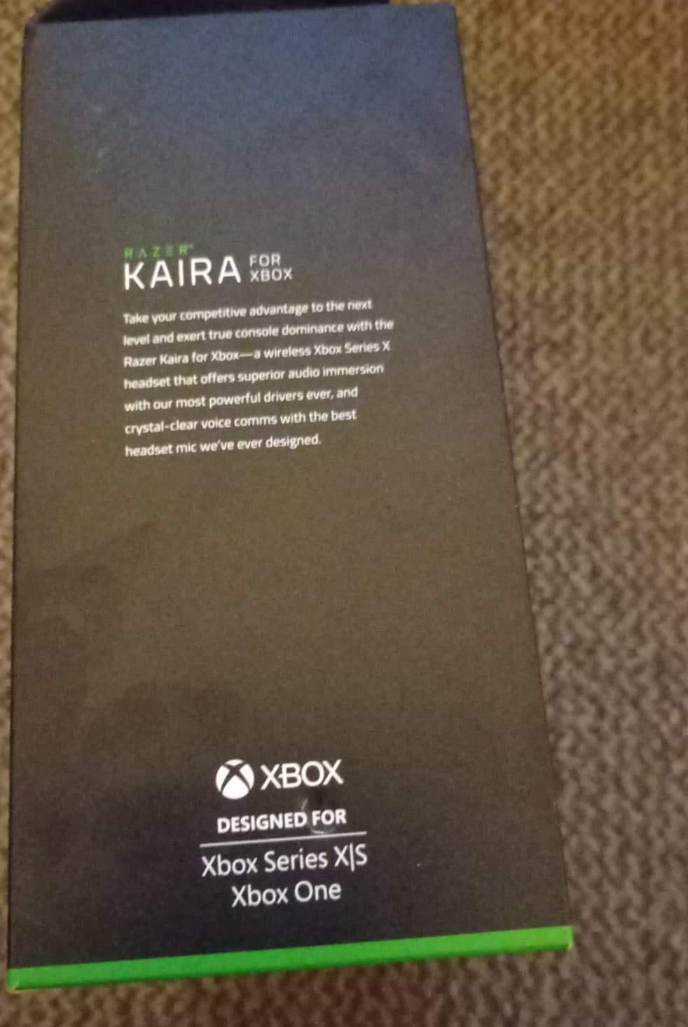 Xbox series x with wireless headphones