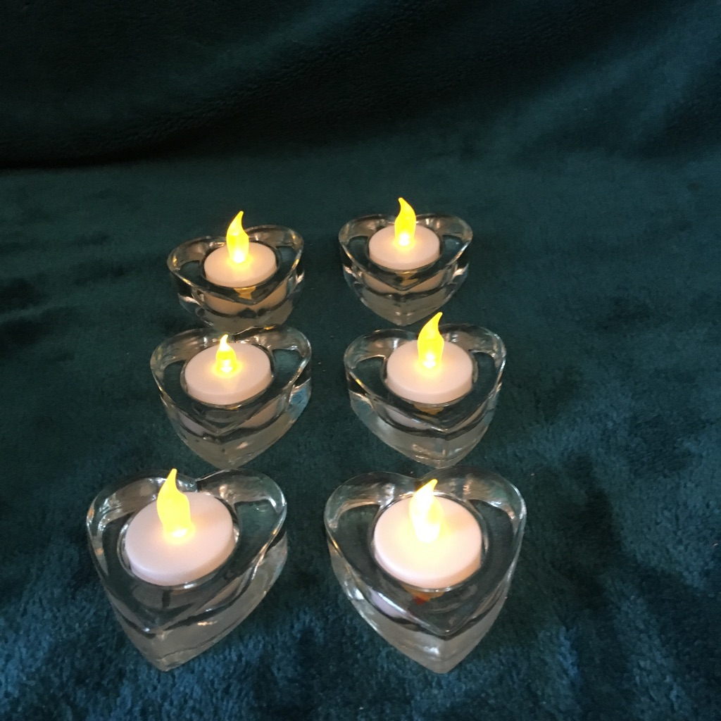 Tea light holders 40