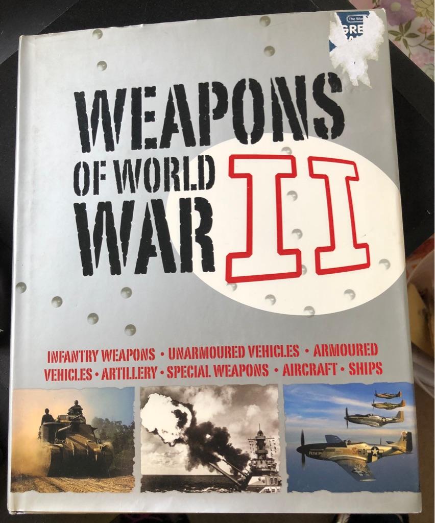 WEAPONS OF WORLD WAR II BOOK