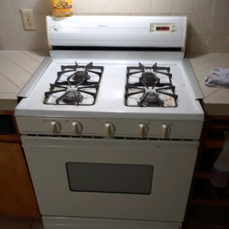 Gas stove whirlpool