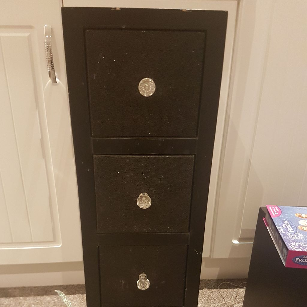 Black drawers