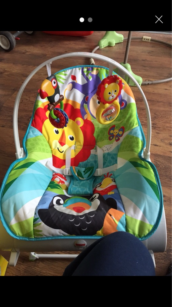 Fisher price baby rocker vibrating chair