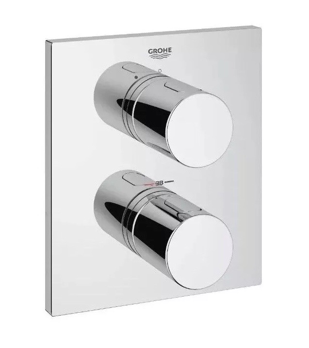 Grohe Grohtherm 3000 Cosmopolitan Thermostatic Shower Mixer Trim