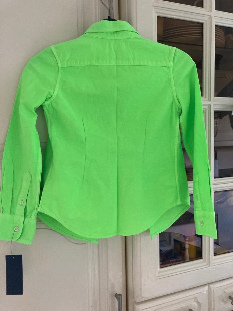 Ralph Lauren Neon Shirt Size 7 NWT $49.50