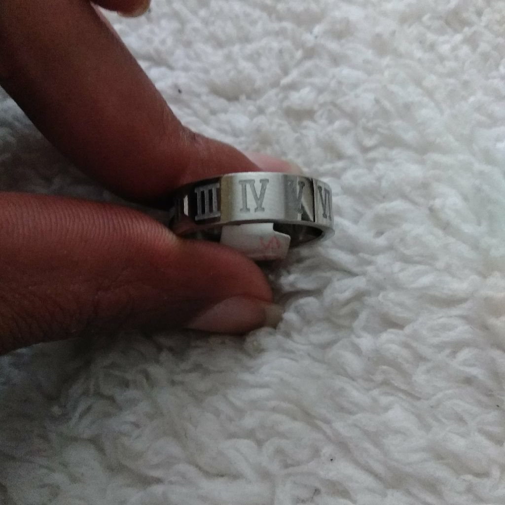 Stainless Steel Engagement Band