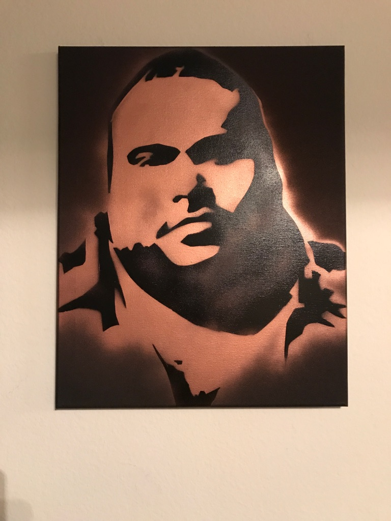 Big Pun 16x20 Graffiti Canvas