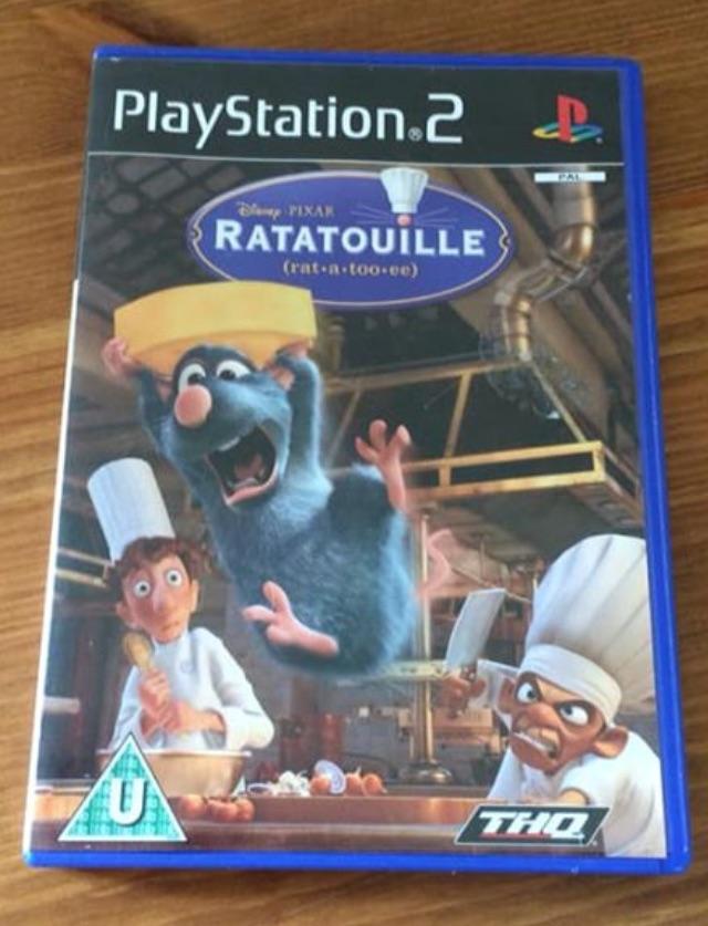 PS2 Game - Disney - Ratatouille