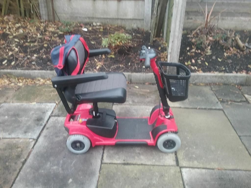 Pride revo mobility scooter