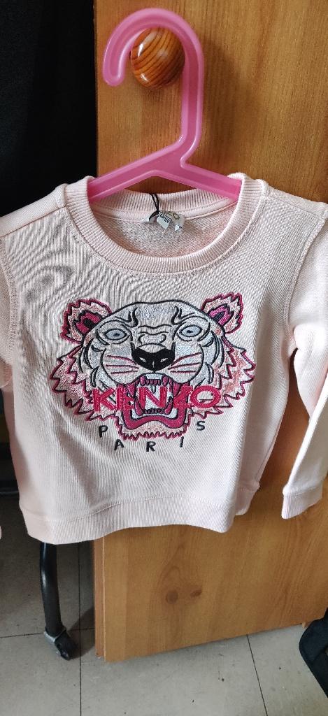 Kenzo pink sweatshirt